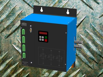 3 phase thyristor power controller with water-cooling for industrial applications