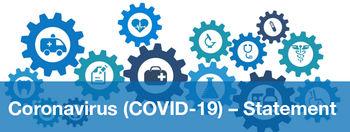 Coronavirus (COVID-19) – Statement image #1