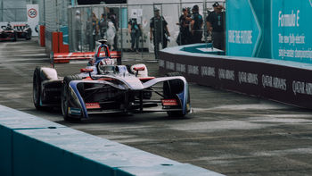 Formula E vehicles