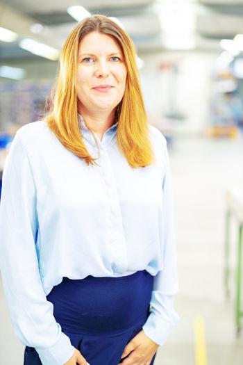 Jennifer Baatz, site manager at REO Kyritz