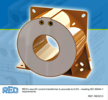 New current transformer has IEC 60044-1 accuracy of 0.2% image #1