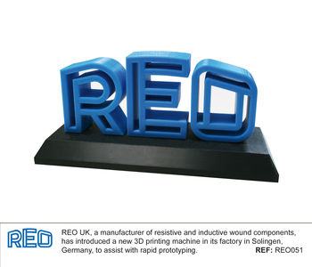 REO's new 3D printer will speed time to market image #1