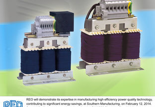REO showcases energy saving and power quality expertise