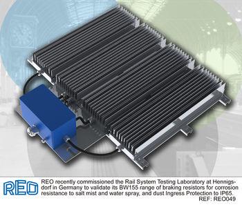 Brake resistor tested for salt water spray image #1